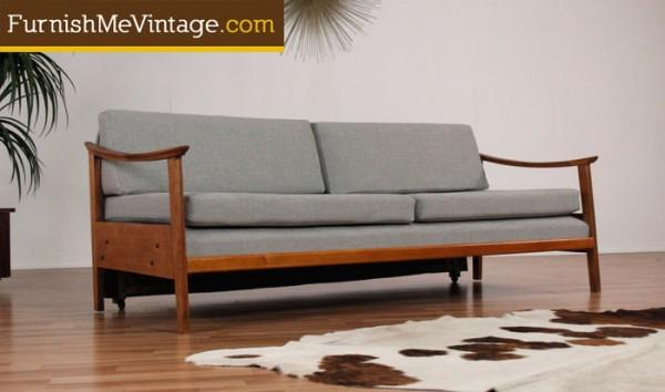 Magnificent Mid Century Modern Trundle Bed Sofa Beatyapartments Chair Design Images Beatyapartmentscom