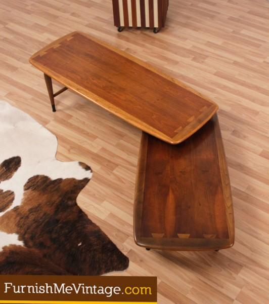 Mid Century Modern Pivoting Lane Coffee Table