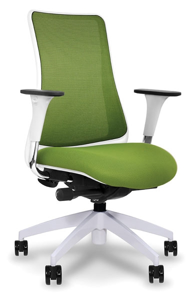 VIA SOHO Genie White Mesh Back Standard Seat Task Chair