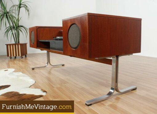 Mid Century Modern ,Electrohome, 701B, Circa 75, Stereo