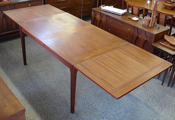 Dyrlund Danish Teak Dining Table Vintage