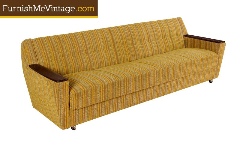 Original Mid Century Modern Convertible Sofa Sleeper