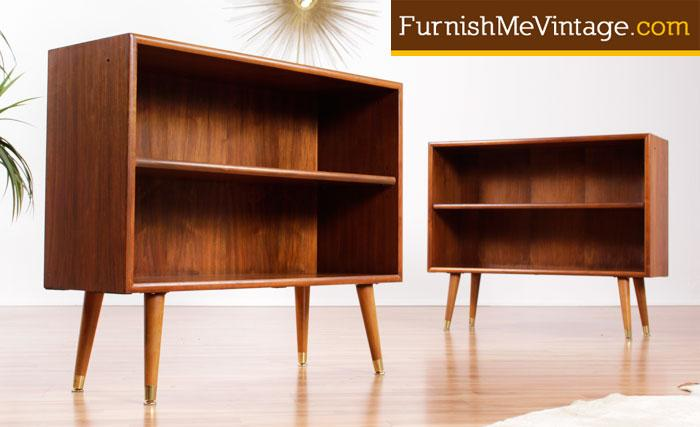 Perfect Small Mid Century Modern Bookcases U2013 (2 Available)