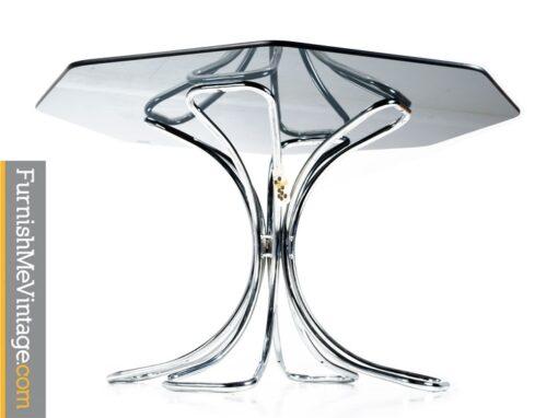 NOS Vintage Futura Chrome Dining Table