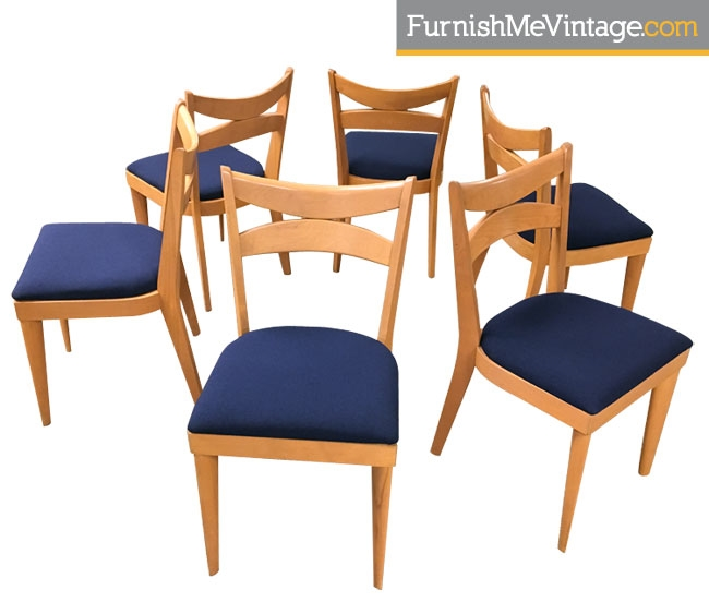 Delicieux Set Of 6 Vintage Heywood Wakefield M953 A Dining Chairs