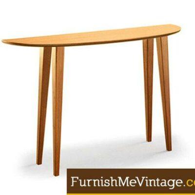 Greenington Currant Caramelized Bamboo Console Table