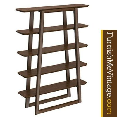 Greenington Currant Solid Bamboo Dark Bookshelf