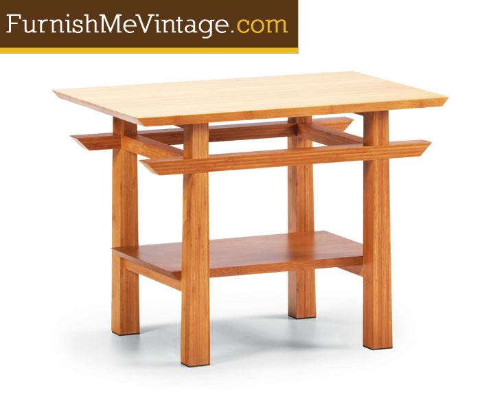 Greenington Lotus Bamboo End Table