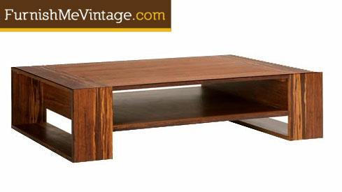 Exotic Bamboo Coffee Table