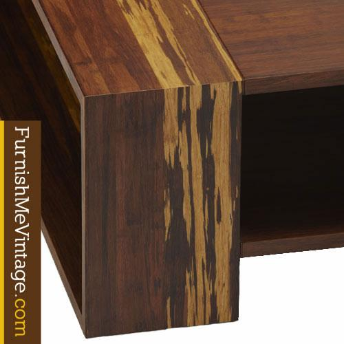 Exotic Glass Coffee Tables: Exotic Bamboo Coffee Table