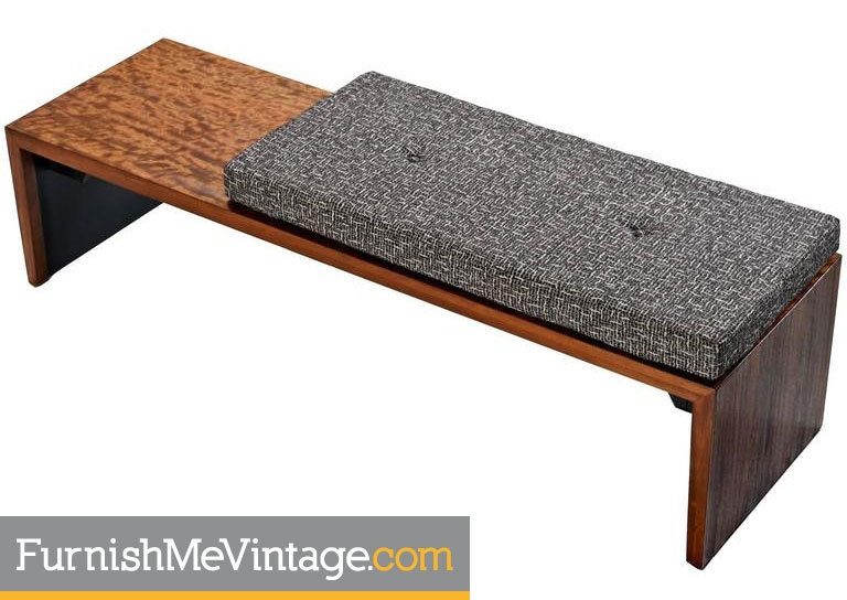 . Milo Baughman Mid Century Modern Bench