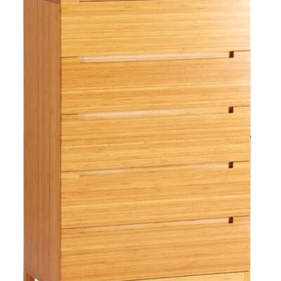 Greenington Orchid Caramelized Bamboo High Boy Dresser