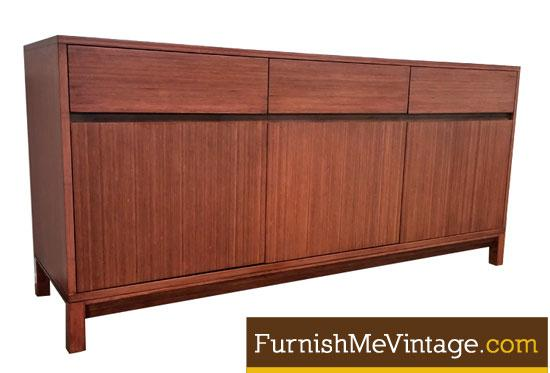 Greenington Nutmeg Color Contemporary Bamboo Credenza