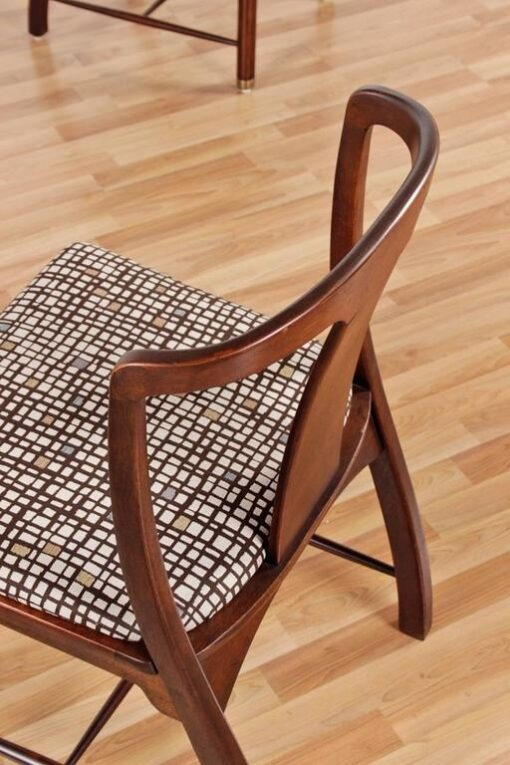 Chinoiserie Chairs - Asian Modern Style in Solid Mahogany