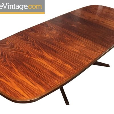 Restored Vintage Gudme Danish Rosewood Table
