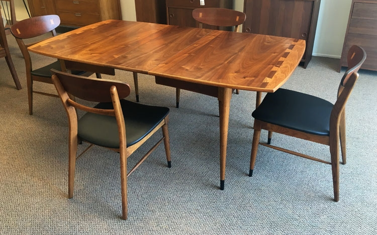 Refinished Mid Century Modern Lane Acclaim Dining Table