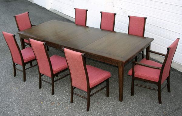 Henredon Vintage Walnut Dining Table