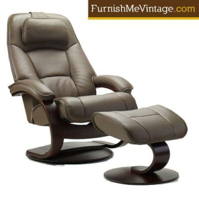 Fjords Admiral Recliner with Footstool