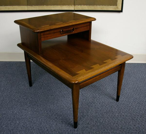 Vintage Lane Acclaim Step Table With Drawer