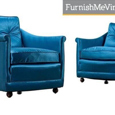 1960s Mid Century Modern Restored Henredon Armchairs