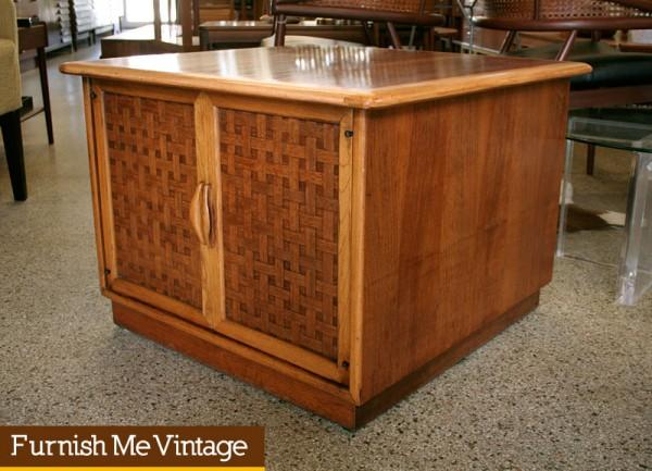 - Vintage Lane Perception End Table Small Cabinet