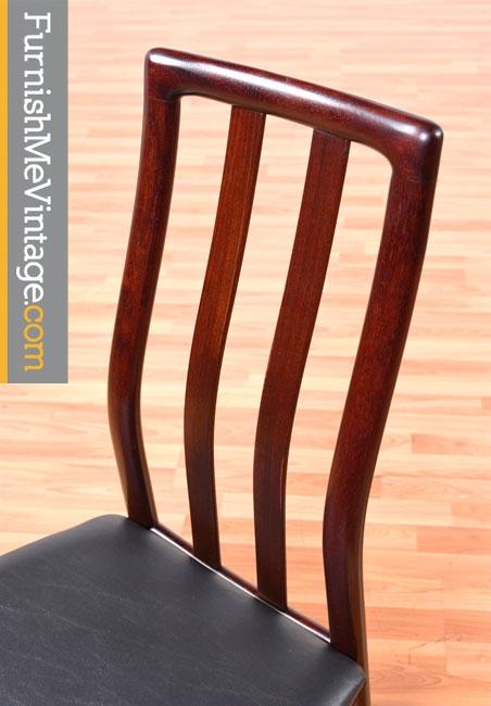 Vintage Scandinavian Rosewood Dining Chairs