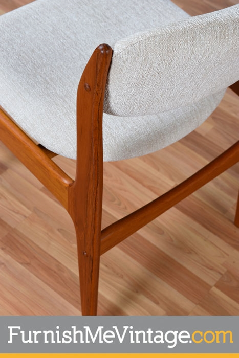 Set of Six Pre-Owned Benny Linden Teak Dining Chairs
