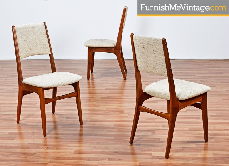 Set Of 6 Vintage Teak Chairs By Paladin