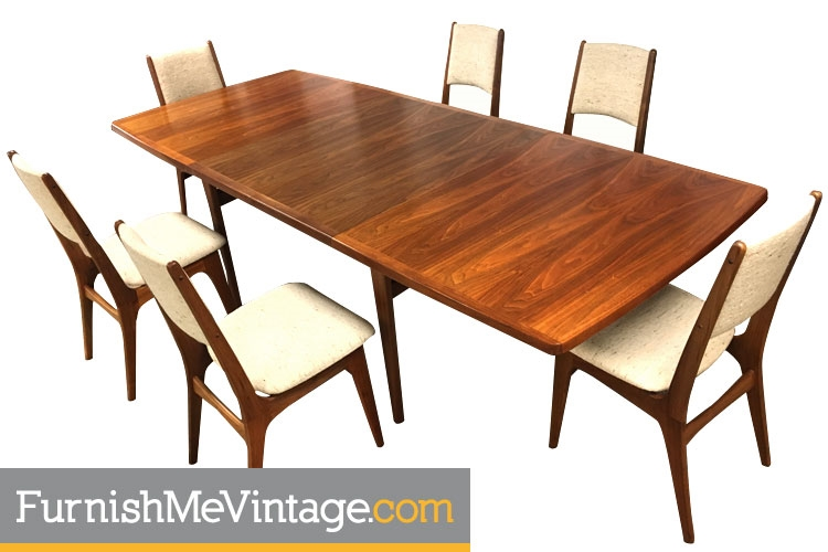 Vintage Long Canadian Teak Dining Table Furnish Me Vintage : 90135 3 from www.furnishmevintage.com size 750 x 500 jpeg 147kB
