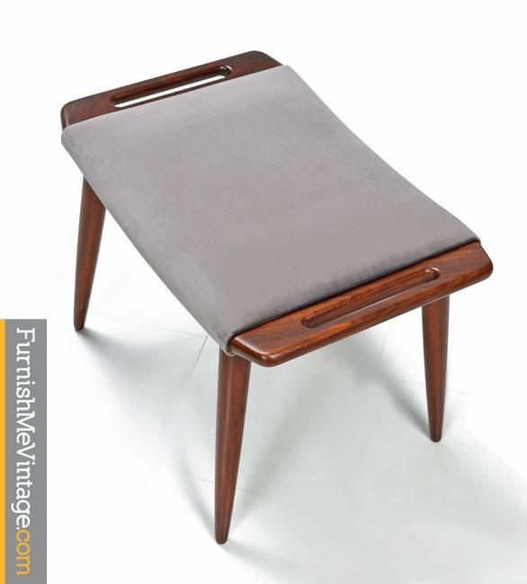 Hans Wegner,danish,lounge Chairs,mid Century,modern,grey Velvet