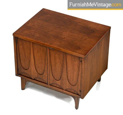 danish modern,brasilia commode,walnut,bedside tables,nightstands