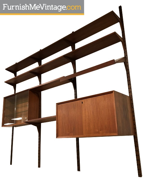Mid century modern modular wall unit for Mid century modern prefab homes