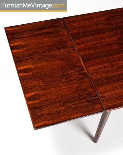 Refinished Vintage Bernhard Pedersen Rosewood Table