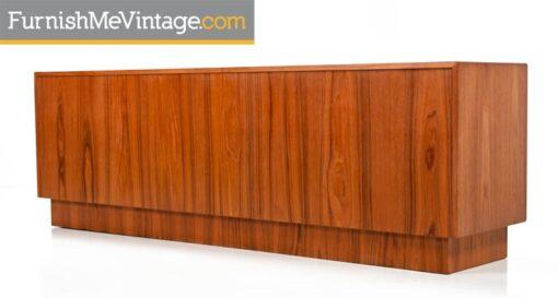 Vintage Bernhard Pedersen Teak Dresser or Credenza