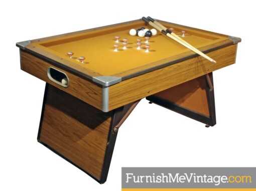 Vintage 1970s Bumper Pool Table