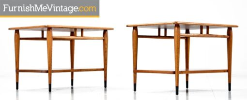 Pair of Refinished Lane Acclaim End Tables