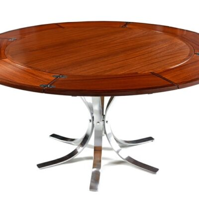 Mid Century Modern Dyrlund Rosewood Flip Flap Table