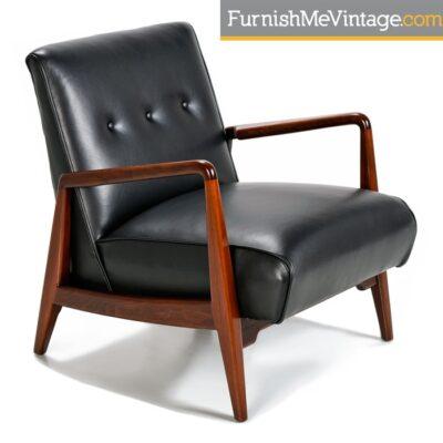 Restored Mid Century Modern Jens Risom Chair