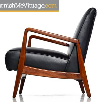 Restored Mid Century Modern Jens Risom Lounge Chair