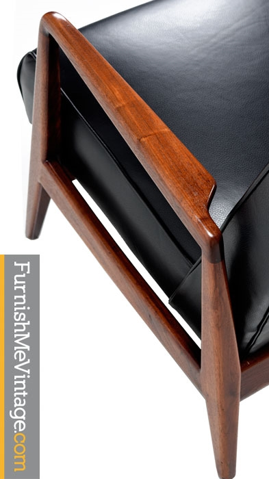 Restored Mid Century Modern Jens Risom Lounge Chair