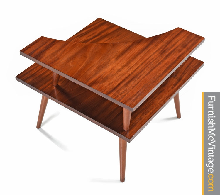 Mid Century Modern Corner Table