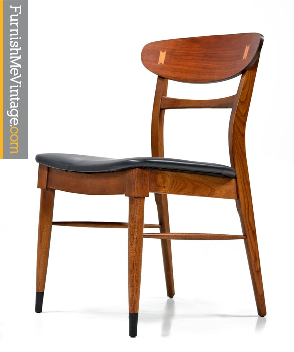 Lane Acclaim Mid Century Modern Dining Chairs