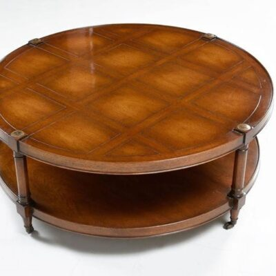 Vintage Heritage Mahogany Circular Coffee Table