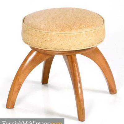 chair,Mid Century, Modern, Heywood, Wakefield,vanity, Stool