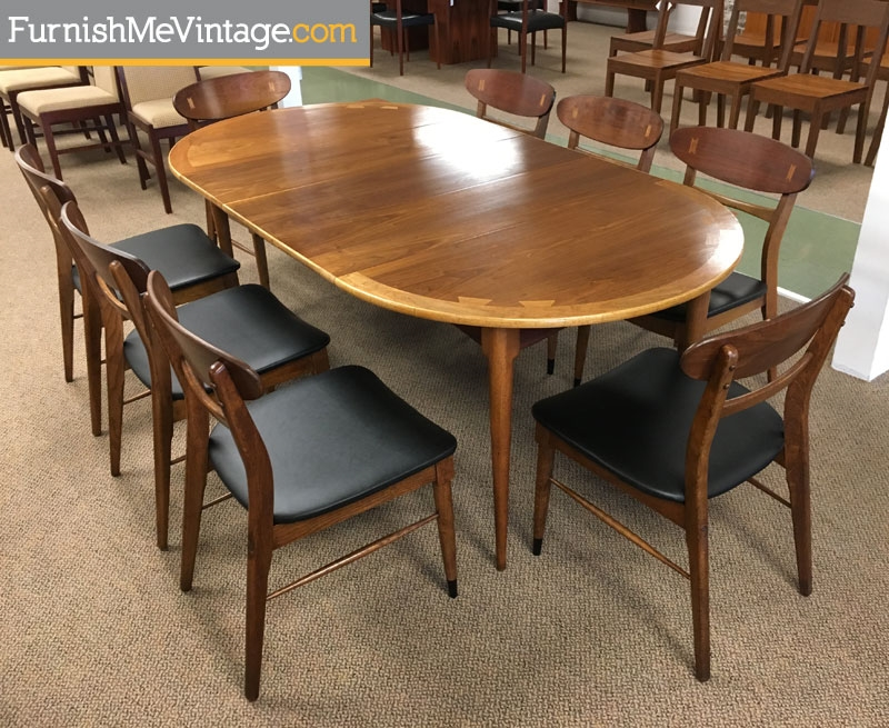 Superbe Circle To Oval Mid Century Lane Acclaim Table