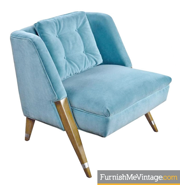 Cerused Oak,Pierre Jeanneret,mid Century,hollywood Regency,blue Velvet,