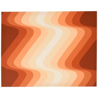 Finlayson Op Art - Panton Style Modern Textile Made in Finland