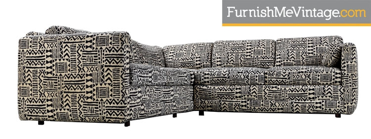 Black And Gray Pit Group Sectional