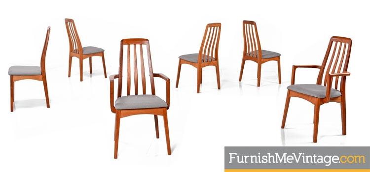 Teak Danish Modern Chairs