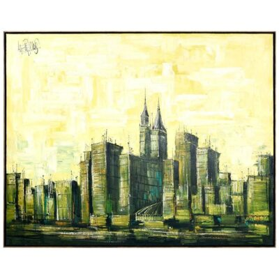 Lee Reynolds Vanguard Studios Cityscape Painting